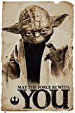 GB eye moviepostersdirect poster grand format de yoda dans star wars 61 x 91,5 cm...