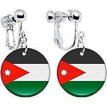 Jordan Bandera pendientes de Clip
