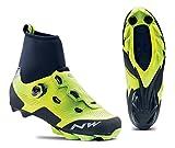 Northwave Raptor GTX Winter MTB Fahrrad Schuhe gelb/schwarz 2019: Größe: 45.5