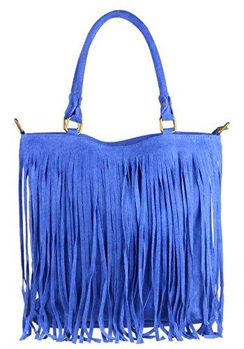 Girly Handbags , Sacs à bandoulière femme - - bleu marine,