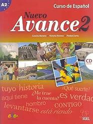 Nuevo avance 2. Libro del alumno (inkl. CD): Curso de español. Nivel A2