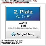 revolt Blitzschutzstecker: 6in1-Überspannungsschutz für TV, HiFi, LAN & Telefon (Überspannungsschutzstecker) Test