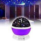 EMOTREE LED Sternenhimmel Nachtlicht Kinder Baby Geschenk Einschlafhilfe Projektor Nachtlampe