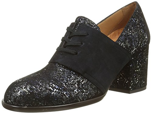 Chie Mihara Huile, Chaussures Lacées Femme Gris (Pixy Plomo/Ante Pizarra)