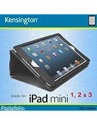 Kensington Portafolio Etui souple et organiseur coque de protection pour iPad Mini 1/2/3en noir