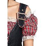 Kostümplanet® Cowgirl-Kostüm Damen Cowboy-Kostüm Western Kleid Größe 48-50 -