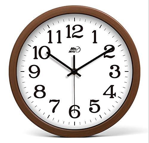 AZLIXLH Ziehtische Digitale Uhr hängende Tische Schlafzimmer Wohnzimmer stumme Dekoration(25 cm / 10 Zoll) Wanduhr