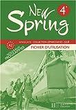 Anglais 4e New Spring - Fichier d'utilisation