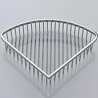Handost Bathroom Accessories Bathroom Rack Stainless Steel Basket Basket Triangular Corner Basketmodern Simple And Durable Home Decoration Classic Quality Assurance