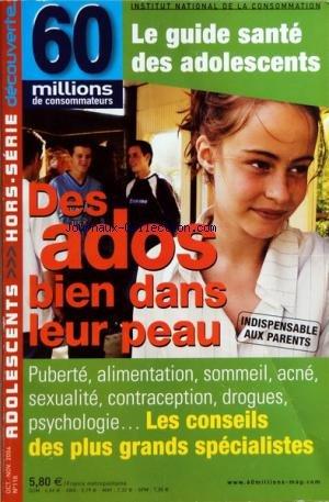 60 MILLIONS DE CONSOMMATEURS [No 118] du...