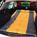 RUIRUI Parte posterior coche viaje al aire libre cama colchón de aire colchón coche de SUV , orange grey 5cm