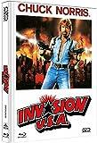 Invasion U.S.A - uncut (Blu-Ray+DVD) auf 333 limitiertes Mediabook Cover B [Alemania] [Blu-ray]