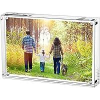 Boxalls Marcos de Foto Acrílicos, Marco de Fotos de Cristal 9x13cm,Transparente de 5