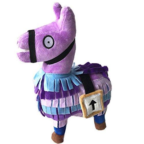 Peluche, Oyedens Plush Toy 2018 Hot For Fortnite Loot Llama Figura Bambola Morbida Peluche Animali Giocattoli (Viola 35cm)