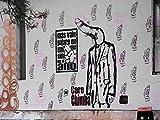 PHOTOGRAPHY GRAFFITI MURAL STREET WALL PENIS HEAD SUIT FUNNY 18X24'' PLAKAT POSTER ART PRINT LV10874