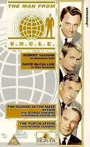 The Man From U.N.C.L.E. Volume 2 (The Gazebo in the Maze Affair / The Yukon Affair) [VHS] [1965]