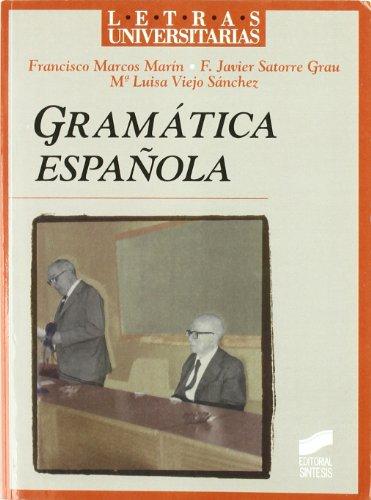 Gramática española (Letras universitarias)