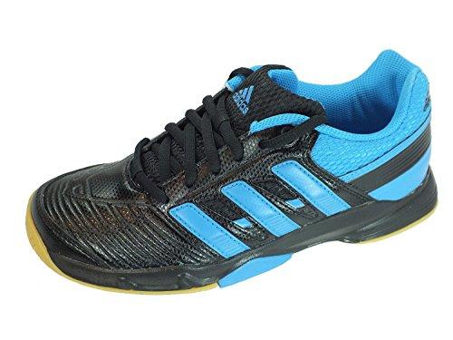 adidas Court Stabil Elite Xj, Herren Hallen & Fitnessschuhe, Blau black1/solbl