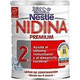 Nidina - 2 Premium Leche de continuación en polvo a partir de 6 meses - 800 g