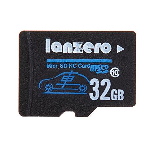 lanzero 32GB microSD Class10TF Tachograph Memory Card für Xiaomi Yi Eken H9Eken H8SJ5000X SJ5000Plus K6000SJ4000M20GitUp 2H8R H8PRO Auto DVR Action Camera Dvr Card Kit