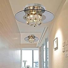 create for life luces de araa en forma redonda con colgantes de cristal