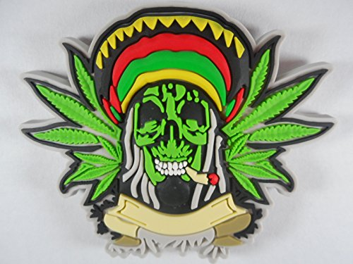 Preisvergleich Produktbild Magnet Marijuana 6 x 5 cm Hanf Cannabis Joint Kühlschrank Figur Deko GOR 5929 B