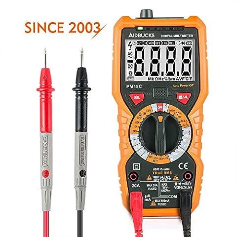 Multimeter Janisa PM18C Digital AC DC Voltage Current Resistance Tester
