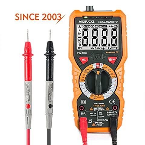 Multimeter Janisa PM18C Digital Multimeter Messgeräte Digitales Voltmeter Amperemeter Ohmmeter