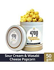 4700BC Popcorn, Sour Cream and Wasabi Cheese, 50g