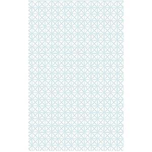 i.stHOME Klebefolie Andy hell-blau weiß Möbelfolie selbstklebend - Selbstklebende Dekofolie Möbel 45 x 200 cm - Selbstklebefolie, Bastelfolie