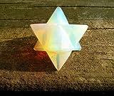 Opalit Merkaba-Stern 'Stein of Eternity' Energie-Heilung Meditation Werkzeug Sacred Geometrie Tetraeder...