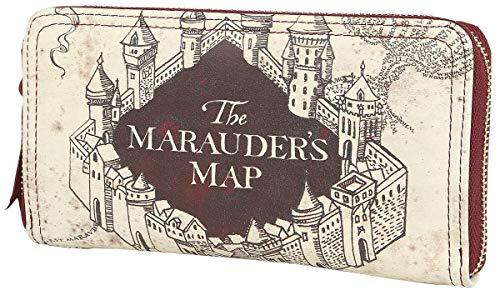 HARRY POTTER Z888050 Geldbeutel The Marauder's Map, Mehrfarbig (Geldbörse Harry Potter)