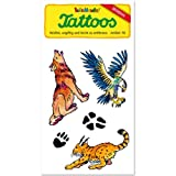 Lutz Mauder Lutz mauder44580 Wilderness Pets Tattoo (One Size)