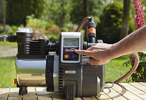 Gardena 6000/6E LCD Inox Hauswasserautomat 1760 - 4