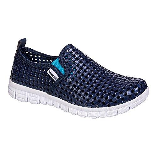 Holees Original Chaussures - Baskets Enfants (Bleu Marine)