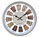 Tied Ribbons Wall Clock for Home Living ...