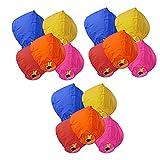 #1: Skycandle Multicolour Sky Lantern Pack of 15