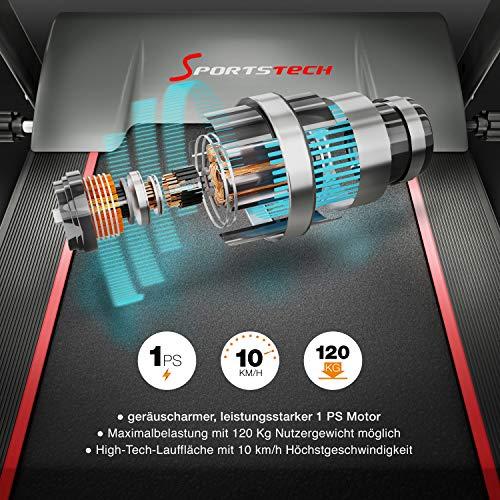 Sportstech F10 Laufband - 4
