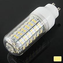 SRY-Bombillas GU10 8W caliente blanco 108 LED SMD 3528 bombilla de maíz, AC 220V, 3000K-3500K Seguro y estable, fiable. ( SKU : S-led-1436ww )