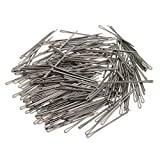 Gazechimp 100 Stück Haarnadeln, 5,0 Zentimeter Länge Friseur DIY Haarstyling
