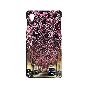 BLUEDIO Designer 3D Printed Back case cover for Sony Xperia Z1 - G3530