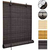 bamboo roller cm brown blinds sellers best p x blind roman