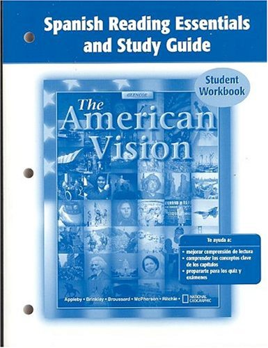 American Vision, Spanish Reading Essentials and Study Guide, Student Edition (United States History (HS)) por Mcgraw-Hill Education
