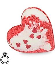 """JewelBath, boule de bain """"Sweetheart"""" avec un bijou surprise en argent (Bague) d'une valeur allant de 10 à 250 €"""