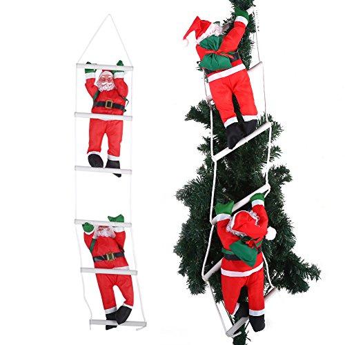 Ornamento di babbo natale, arrampicata babbo natale giocattolo albero di natale indoor/outdoor hanging ornament decoration