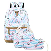 CAMTOP Teens Backpack for School Boys Girls School Bookbag Set Travel Daypack
