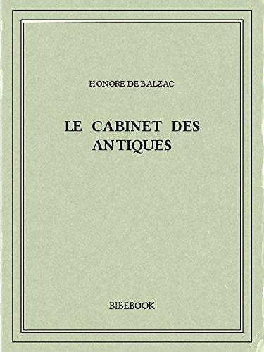 Couverture du livre Le Cabinet des Antiques