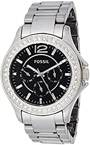 Fossil Women's Quartz Watch, Analog Display and Ceramic Strap CE10