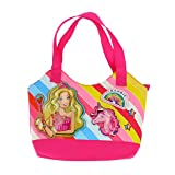 Barbie - Sac shopping Rose, Taille Unique