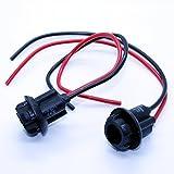 LED-Mafia 2X LAMPENFASSUNG T10 W5W Stecksockel Lampe Stecker Kabel Reperatur Sockel Fassung Kabel